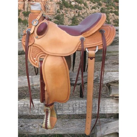 RW Bowman B-Light Ranch Saddle