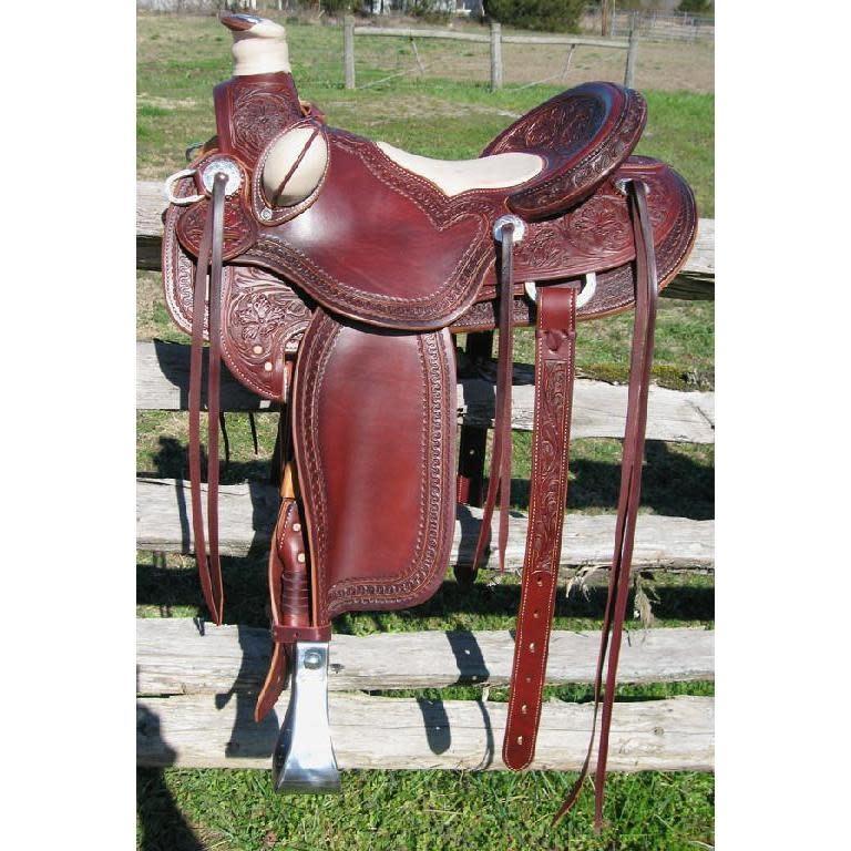 RW Bowman B-Light Silver Saddle