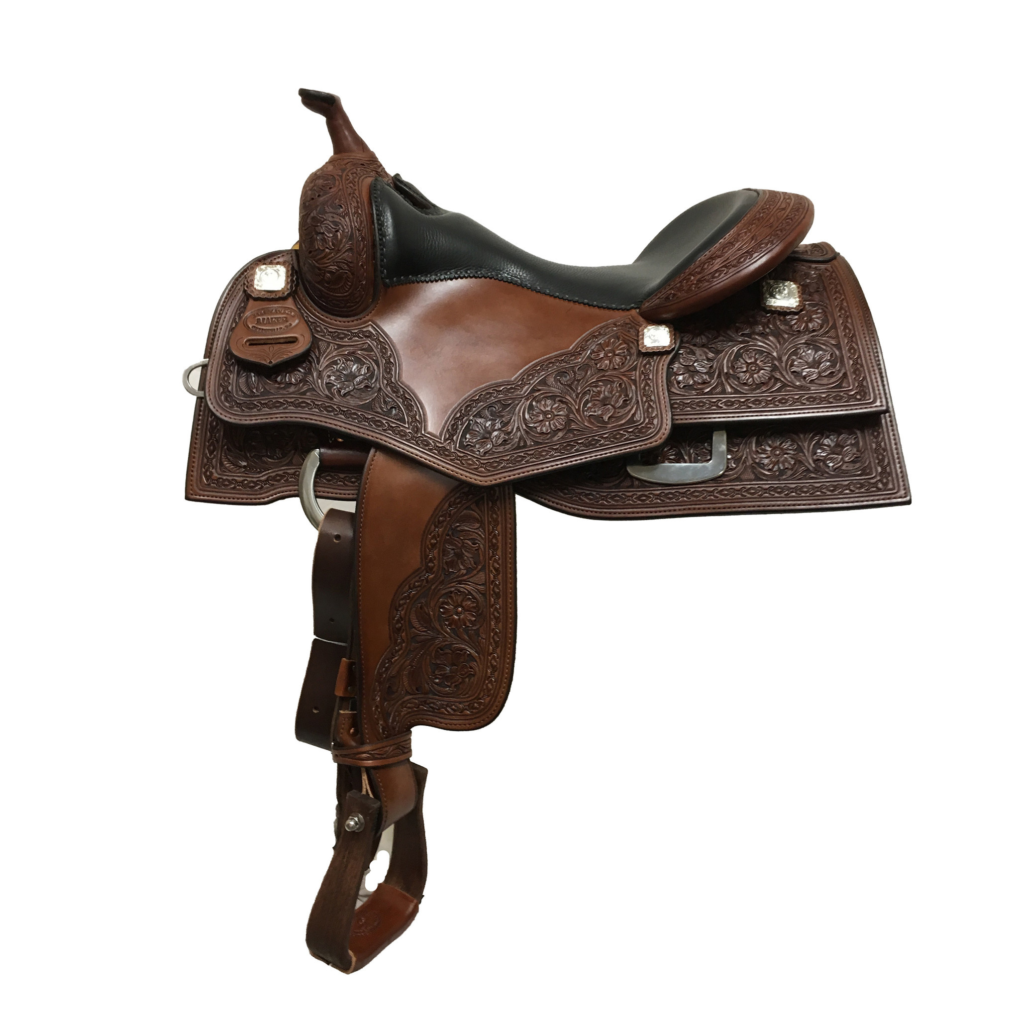 Jim Taylor Custom saddle Jim Taylor Saddle JT04kw