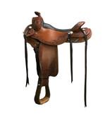 """Triple Crown Triple Crown Stock Saddle *40, 15"""", rcs-4/rcs-5"""