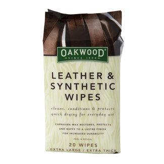 Oakwood Oakwood Leer onderhoudt doekjes