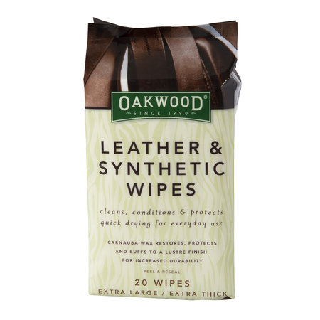 Oakwood Oakwood Leather and Synthetic Wipes