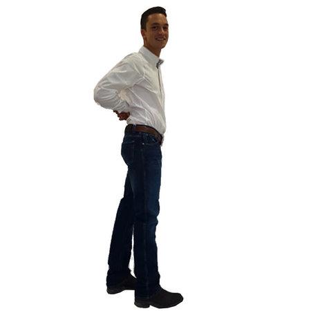 Rawhidejeans Loran Heren Jeans Washed
