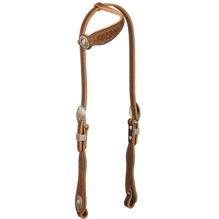 Weaver Leather Western Edge Slide Ear Headstall