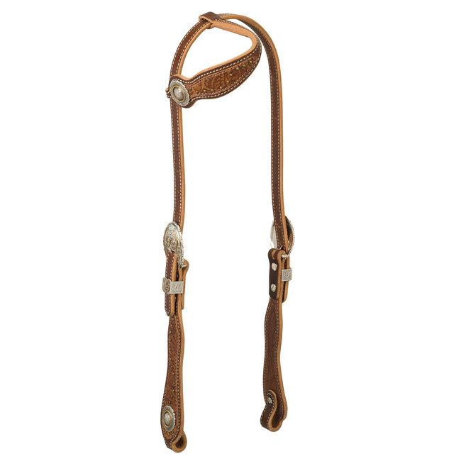 Weaver Leather Western Edge Slide Ear Hoofdstel