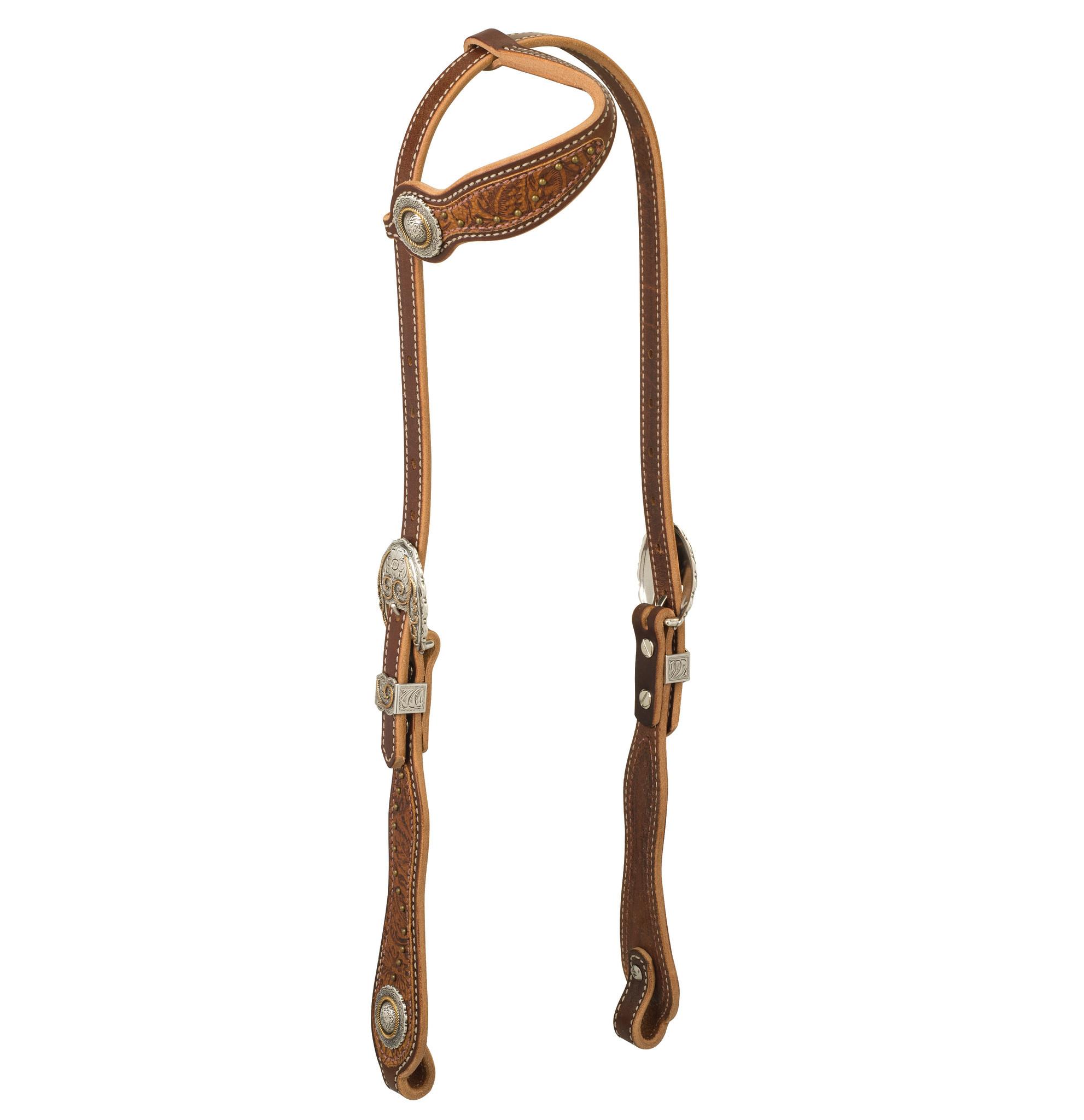 Weaver Leather Western Edge Slide Ear Headstall