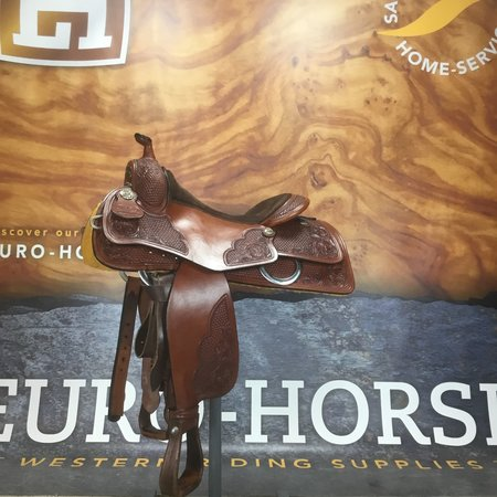 Jim Taylor Custom saddle Jim Taylor cavalier 3.5 15.5 AH