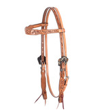 Cashel Guns and Roses Headstall Browband