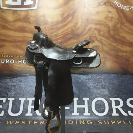Bobs Custome saddles #refurbished custom bobs 15.5 inch