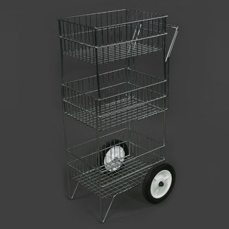 Royal Wire Equine 3 Tier Grooming Cart