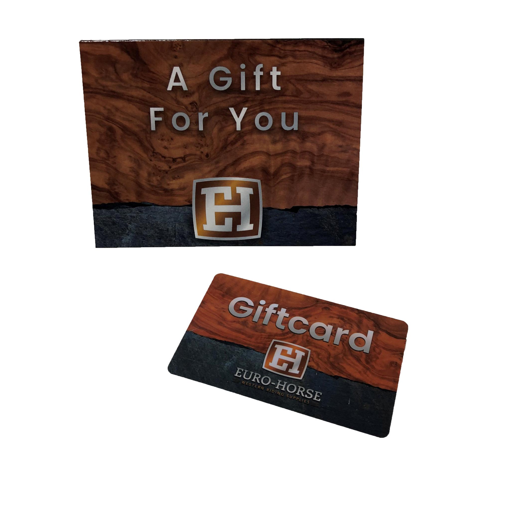 Euro-Horse western riding supplies Gift card
