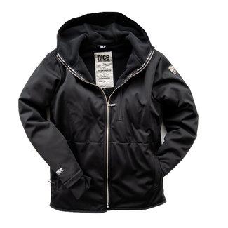 Nice Horse Fashion Stormlock winter-jacket men's black hood