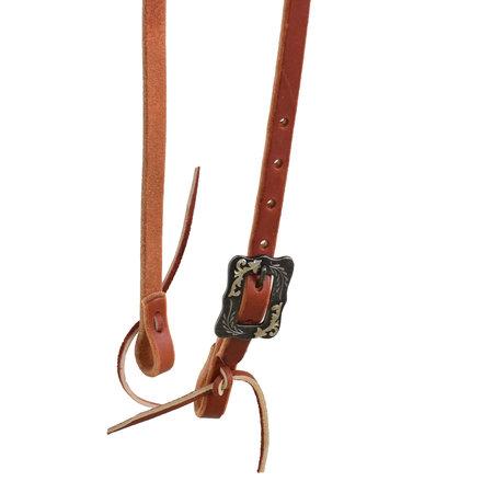 Berlin custom leather Reg Brow Hdsl/ BK Steel Buckle