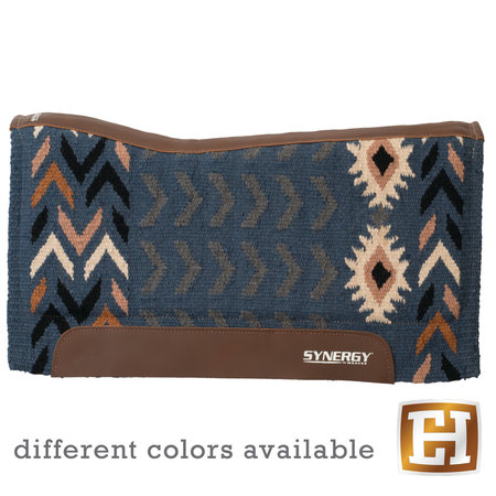Weaver Leather Synergy Contoured Performance Saddle Pad Insignia