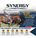 Weaver Leather Synergy Contoured Performance Saddle Pad Insignia