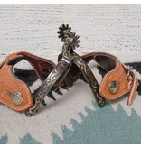Classic Equine Youth Scroll Spur