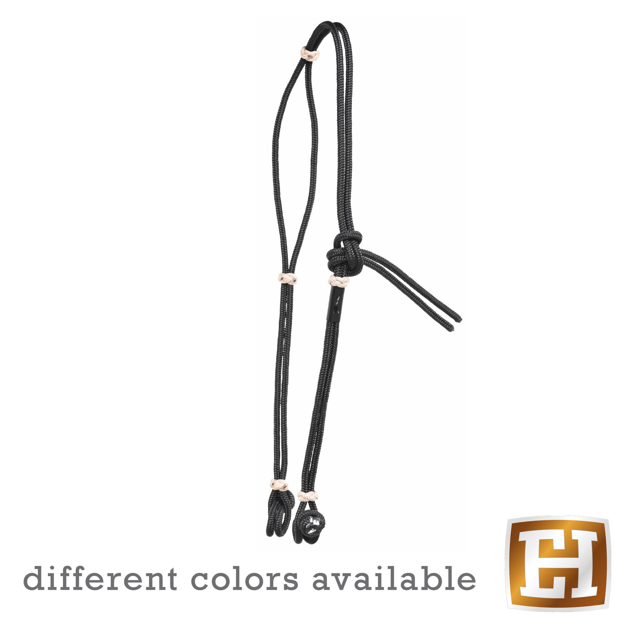Berlin custom leather Nylon Rope Headstall