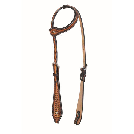 Jim Taylor (by Western Rawhide) Infnity Tear Drop Headstall by Jim Taylor