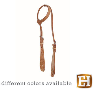 Jim Taylor (by Western Rawhide) Floral Tear Drop Headstall by Jim Taylor