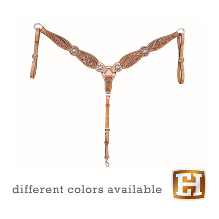 Country Legend Floral and Basket Breastcollar