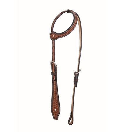 Jim Taylor (by Western Rawhide) Diamond Tear Drop Headstall by Jim Taylor