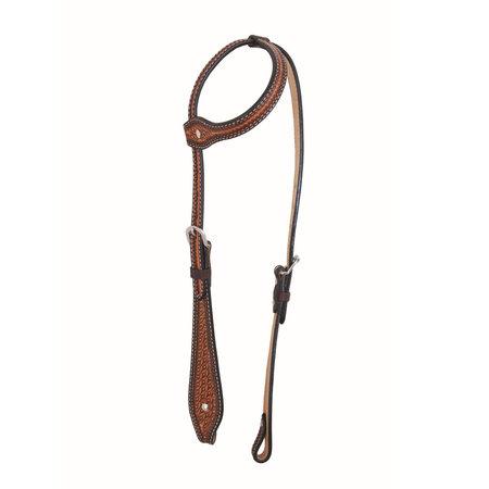 Jim Taylor Custom saddle Tear Drop Headstall by Jim Taylor