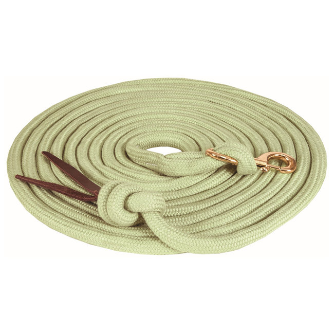 Mustang Bamtex round braided lunge line