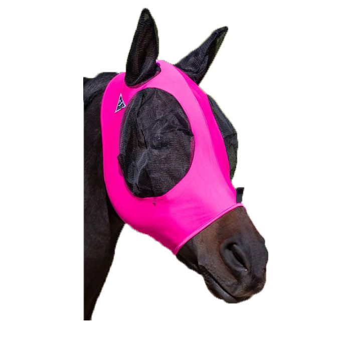 Professional's Choice ComfortFit Lycra Fly Mask Pink Cob