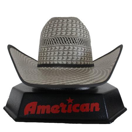 American Hat Company Swirl Pattern Steel Hat