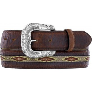 Justin Nothern bison belt Brown