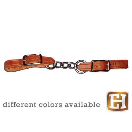 Berlin custom leather Small Twisted Chain Curb, Kinnkette