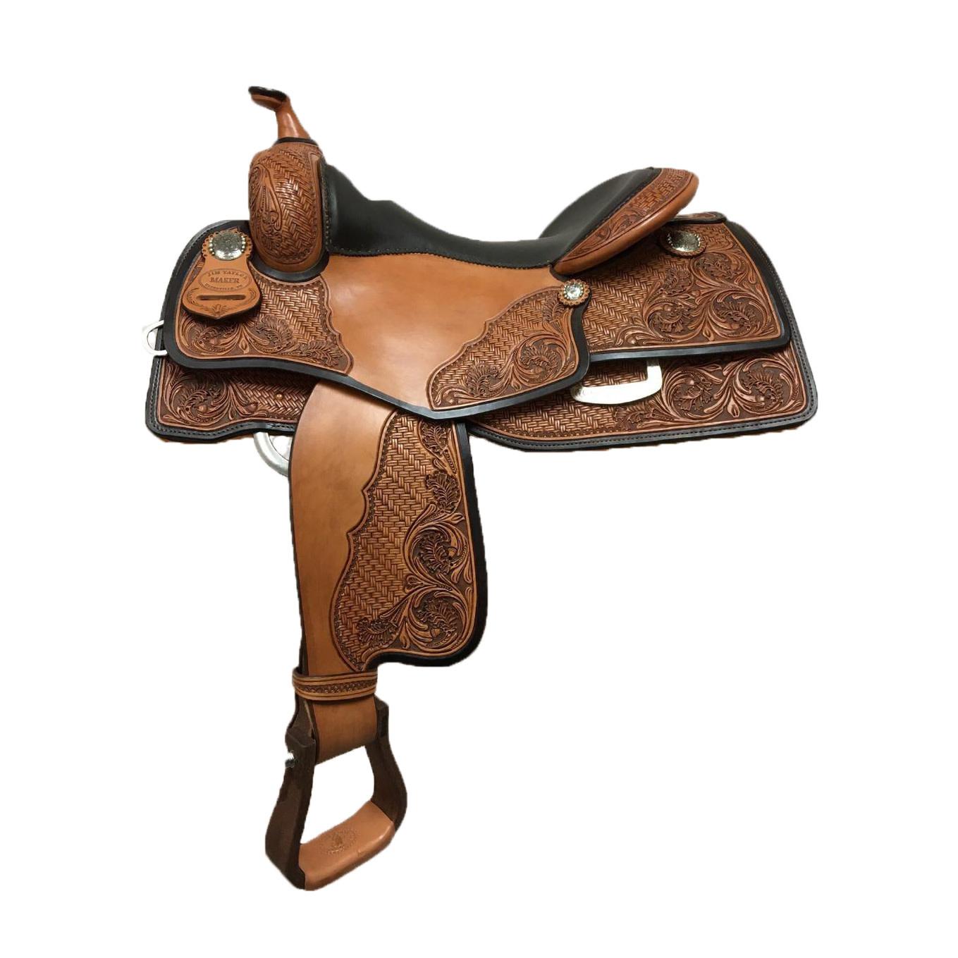 Jim Taylor Custom saddle Jim Taylor example saddle 9