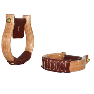 Nettles Stirrups Regular 1,5'' Oxbow varnished finish