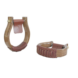 Nettles Stirrups Regular 1,5'' Oxbow Cocoa