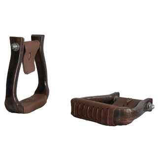 Nettles Stirrups Regular 1,5'' Halfbreed Triple Finish