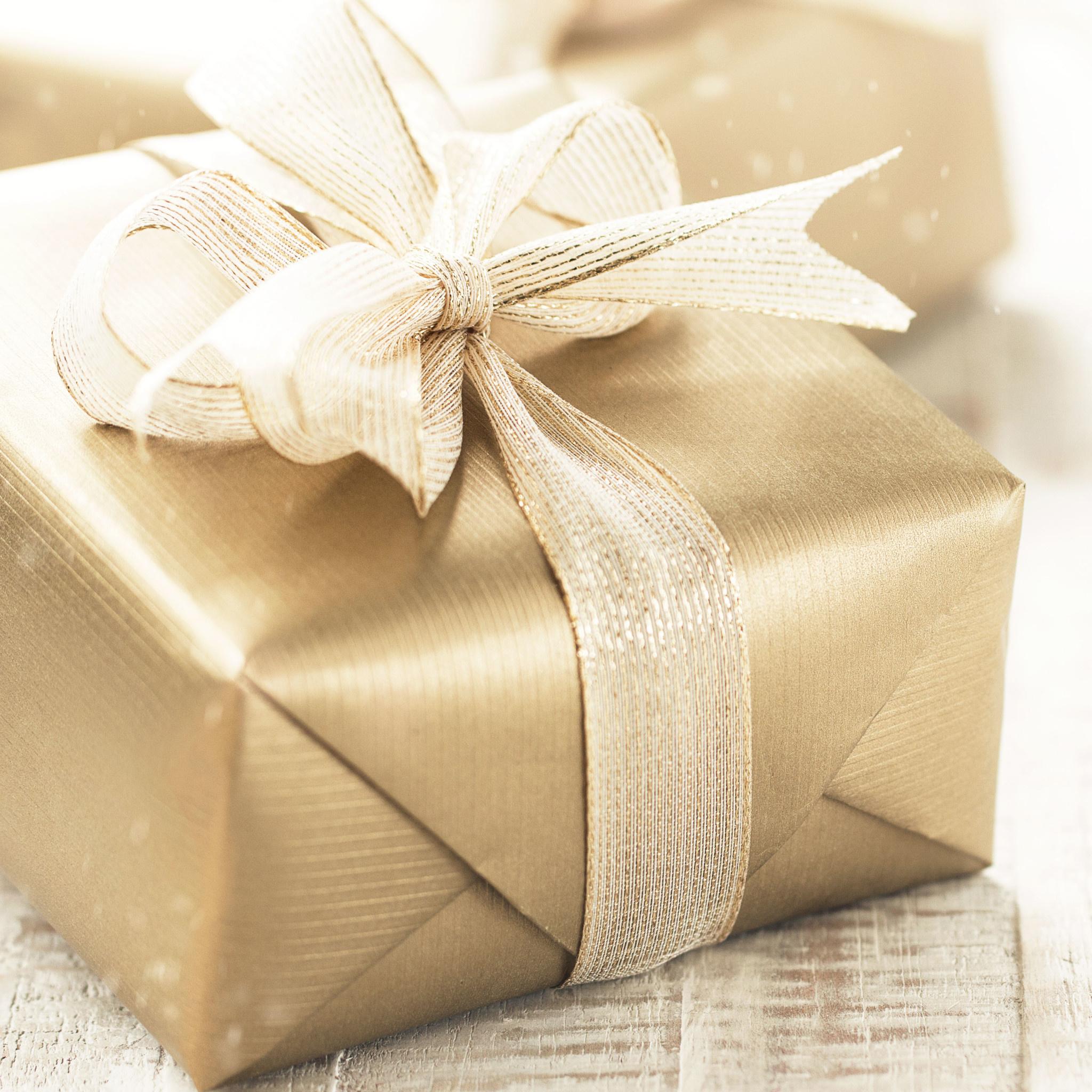 Kerst cadeauverpakking