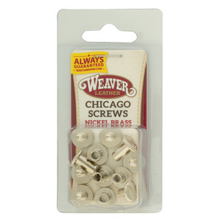 Weaver Leather Chicago screws (per zakje)