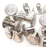 Weaver Leather Chicago screws  (per zakje)