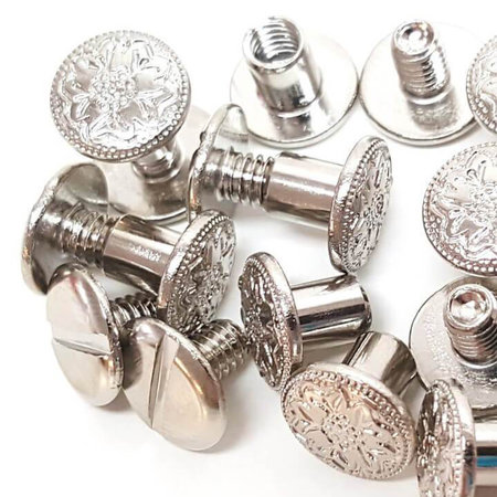 Weaver Leather Chicago screws (per bag)