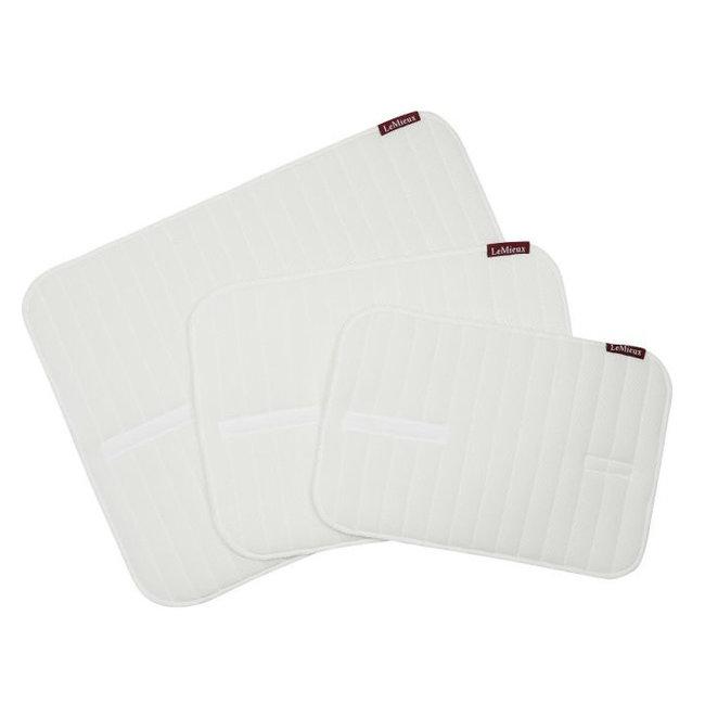 LeMieux Memory Foam Bandage Pads White