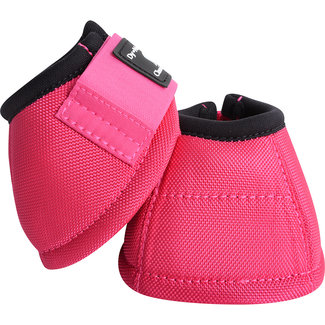Classic Equine Dy-No Turn Bell Boot Fuchsia M