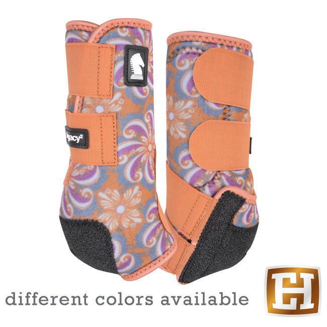 Classic Equine Legacy Boots Front Designer Line
