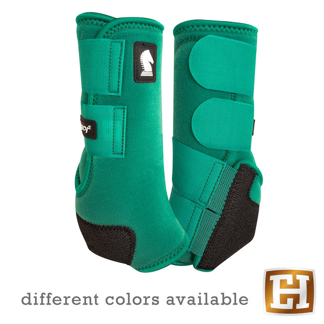 Classic Equine Legacy Boots Hind Solid