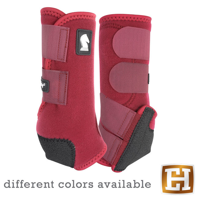 Classic Equine Legacy Boots Front Solid