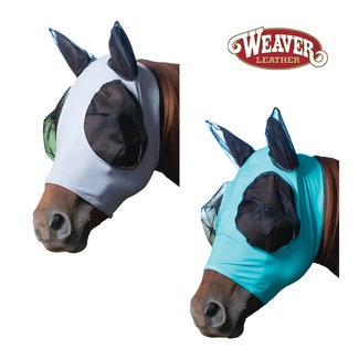 Weaver Leather Lycra Fly Mask Solid