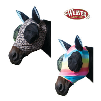 Weaver Leather Lycra Fly Mask Patterned