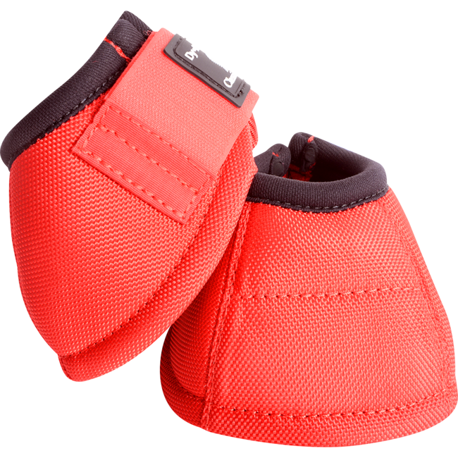 Classic Equine Dy-No Turn Bell Boot 2020 Red M