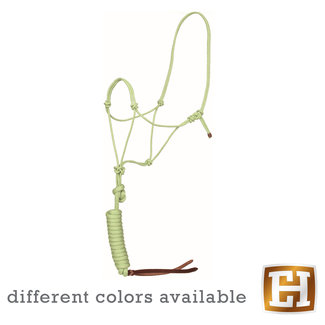 Mustang Bamboo Rope halster met lead