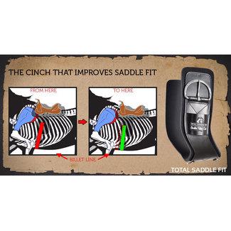 Total Saddle Fit Shoulder Relief Cinch Neoprene