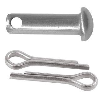 Western Rawhide Bus & split pin set for rowels